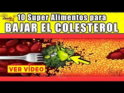 🔴✅Super Alimentos Para Bajar El Colesterol - Remedios Caseros Para Bajar El Colesterol LDL