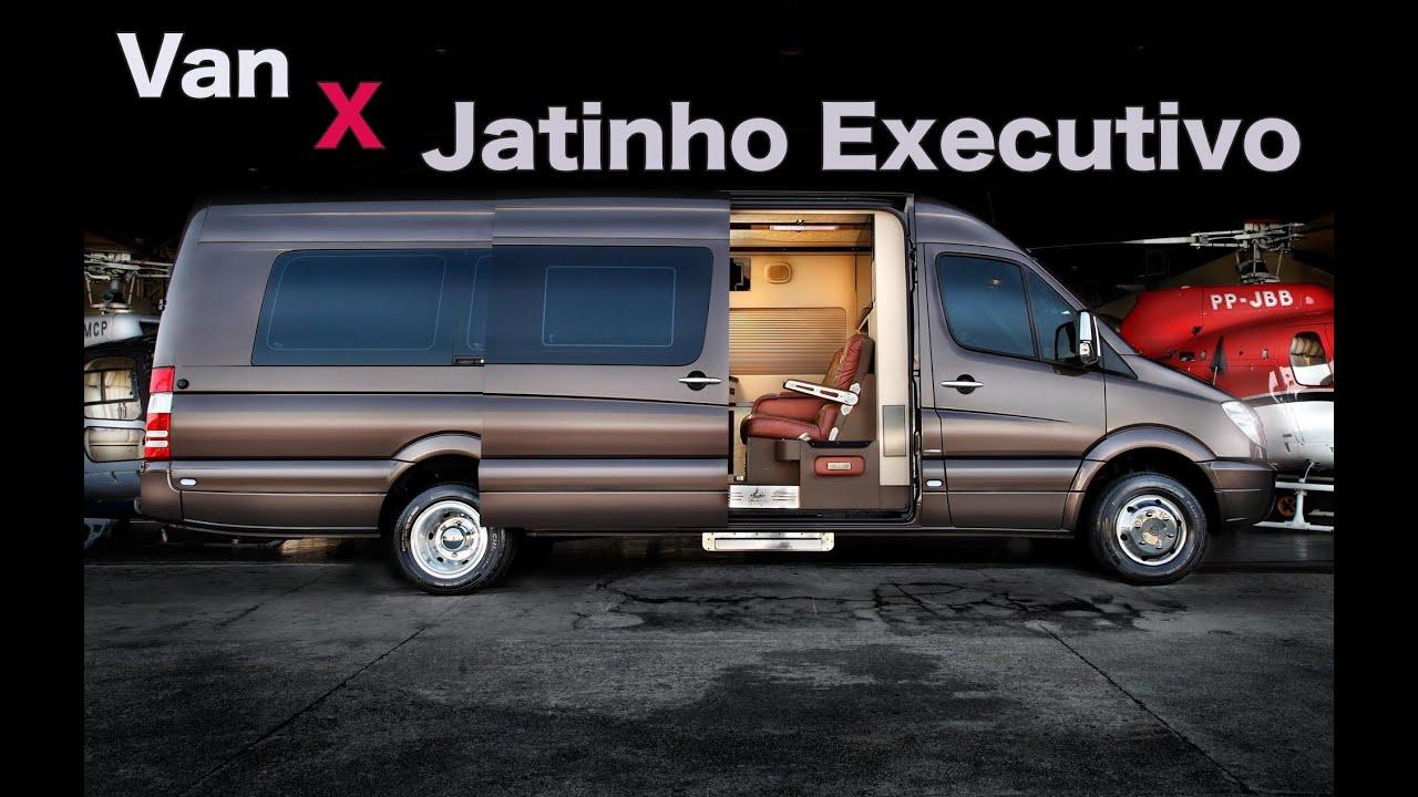 Mercedes Benz Minivan >> Conheça a Jetvan, a van com interior de jatinho executivo - YouTube