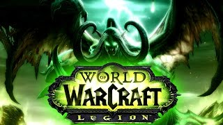 World of Warcraft LEGION LEVELING 100-110 Fire Mage Questing in Broken Isles Expansion Gameplay LIVE