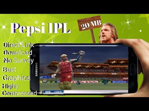 How To Download And Install IPL Game In Android | Highly Compressed | Gameplay Proof ||