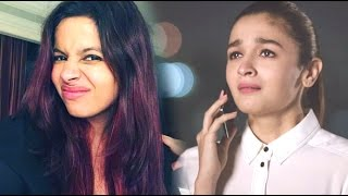 WATCH! Alia Bhatt OPENS UP About Sister Shaheen's Depression