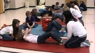Sit Ups with Simpsonville Elementary School