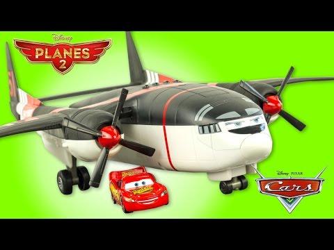 Disney Planes Cabbie Cargo Transporter Saves Lightning McQueen Toy Review