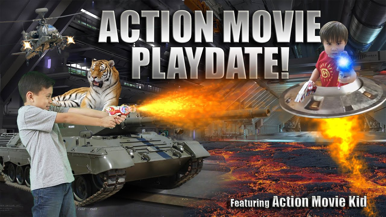 Action Movie Playdate Special Effects Adventure Ft