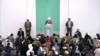 Проповедь Хазрата Мирзы Масрура Ахмада (30-11-2012)