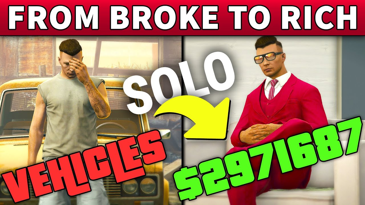 From BROKE to RICH MILLIONAIRE with VEHICLE CARGO | Step By Step CAR STEAL SOLO GUIDE in GTA Online