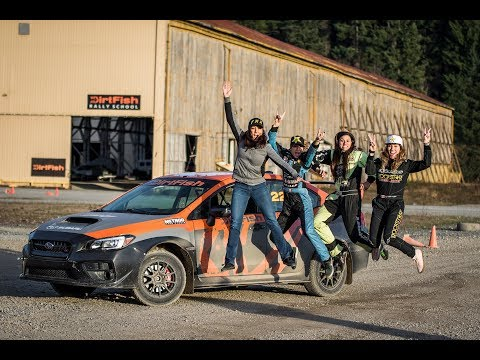 Female Action Sports Athletes Rally at DirtFish