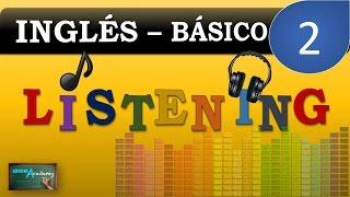 ENGLISH LISTENING PRACTICE # 2 - Presente progresivo o continuo (Nivel Principiante)