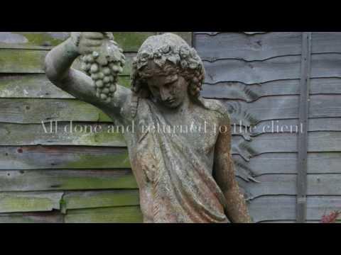 Statues garden antiques restoration