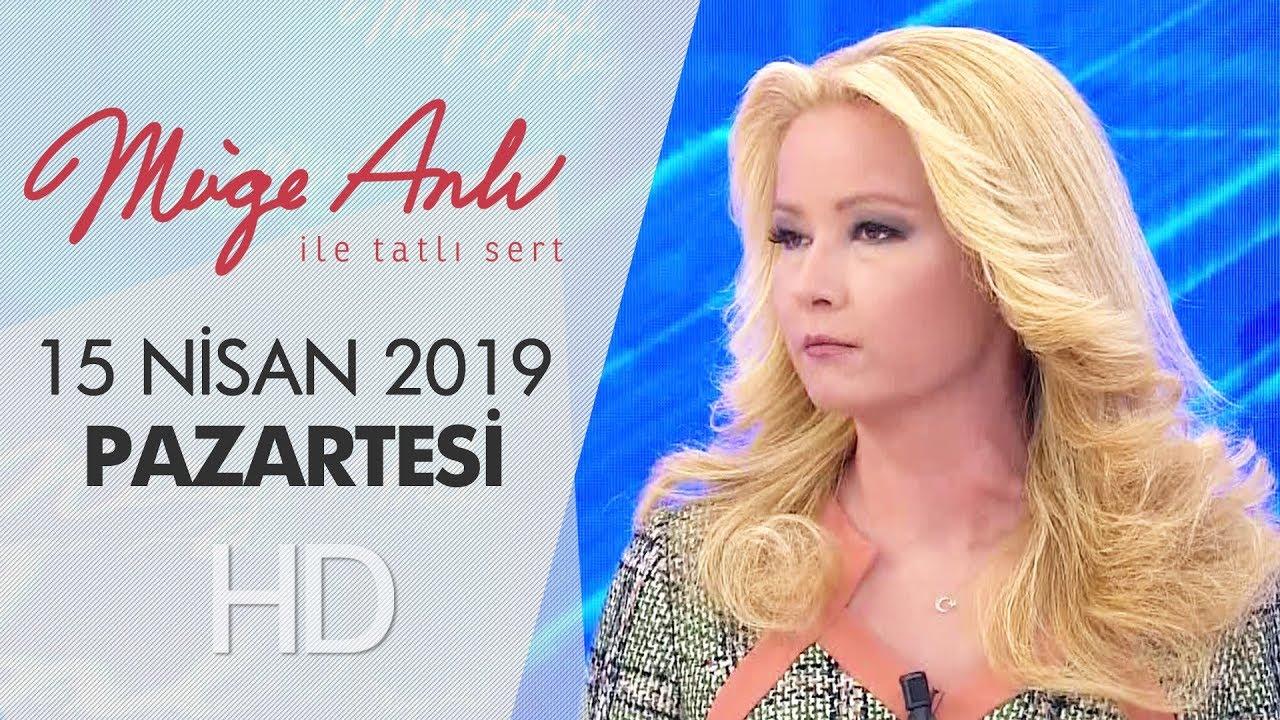Download Müge Anlı ile Tatlı Sert 15 Nisan 2019 | Pazartesi