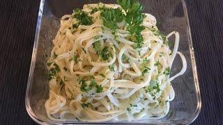 Spaghettisalat passt super zu gegrillten ganz ohne Thermomix®