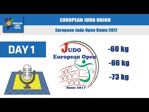 European Judo Open Men - Rome 2017 - Day 1