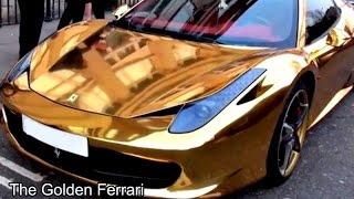 Ferrari Dourado-Golden Ferrari