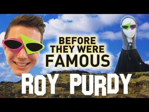 ROY PURDY - Before They Were Famous - Pink And Green Glasses