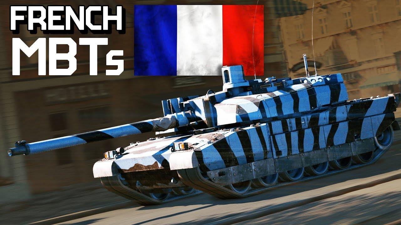 French MBTs / War Thunder