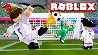 WE WON SUPER POWERS IN FOOTBALL AT ROBLOX!!