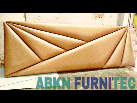 #amazing #headboard Stylish Cross Cutting Headboard For Bed || TUTORIAL || Amazing Design....