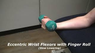 Elbow Rehab Part II - Basic Strengthening