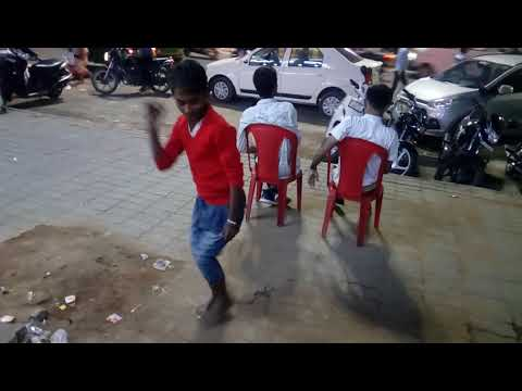Slum boy dance