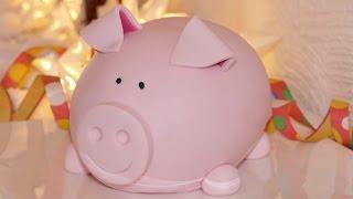 3D Schweinchen-Motivtorte | Glücksbringer | Schweinchentorte | Fondanttorte von Nicoles Zuckerwerk