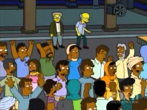 The Simpsons - Indian Dance Scene