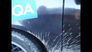 Крыло из стеклопластика. Проверка на прочность. Fender of fiberglass. Test of strength.(, 2013-12-24T16:36:13.000Z)