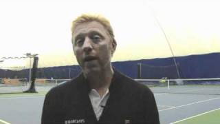 Boris Becker on Andy Murray, naked men and why he'd beat Nadal on grass!