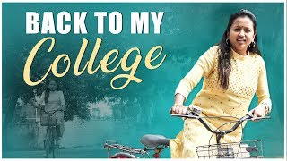 Back To My College || Vlog 5 || Sumakka || Silly Monks