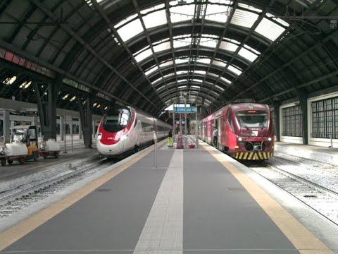 It 16 circolazione dei treni della stazione di milano - Orari treni milano torino porta nuova ...