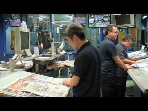 The making of The Straits Times Personalised Newspaper