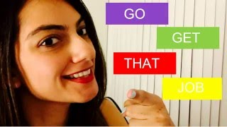 GET YOUR FIRST JOB | POST GRADUATION TIPS | LIFE AFTER UNIVERSITY
