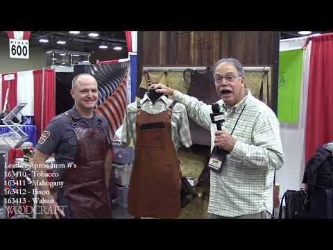 Calavera Shop Aprons Coming to Woodcraft