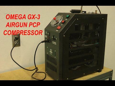 Airgun PCP Compressor - Home - Office - Omega GX3 - Supercharger: www.doovi.com/video/pcp-compressor/_-8EkHfEXo0