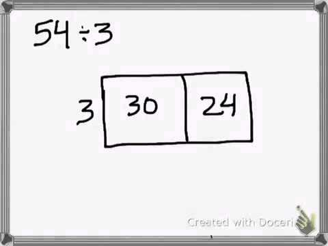 The Distributive Property of Division (Array Model) - YouTube