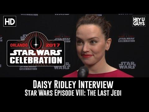 Download Youtube: Daisy Ridley Interview - Episode VII: The Last Jedi - Star Wars Celebration 2017
