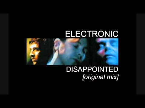 Disappointed - Electronic (featuring Neil Tennant) - YouTube