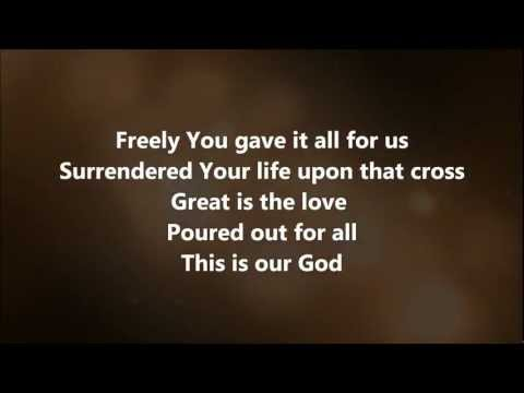 This Is Our God - Hillsong United w/ Lyrics
