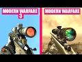 Call of Duty Modern Warfare 3 Gun Sounds vs Call of Duty Modern Warfare