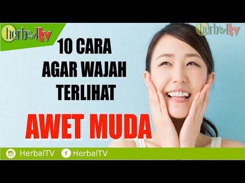 10 Cara Agar Wajah Terlihat Muda