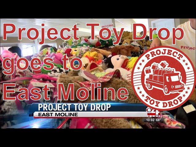 Project Toy Drop on Channel 4 WHBF | Kids Wish Network