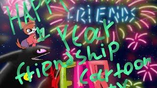 Glücklich ein Jahr Freundschaft cartoon tv  (ein Geschenk für C. T. für unsere ein Jahr der Freundschaft)