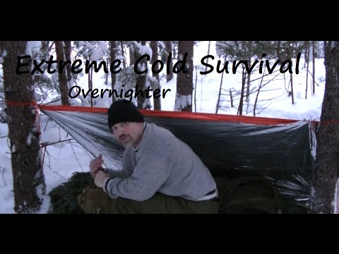 Extreme Cold Survival Overnighter