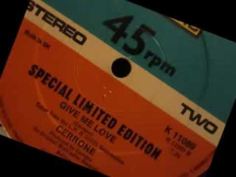 Cerrone - Give me love. 1977 (12