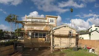 Pacific Beach Second Story Addition Timelapse