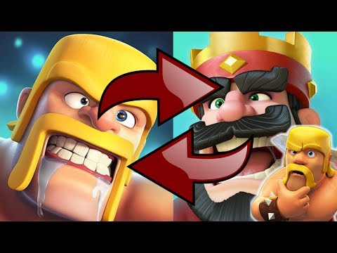 What if Clash of Clans and Clash Royale SWAPPED troop STATS?