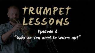 JAM trumpet lessons   Episode 1 - warm-up