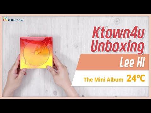 "Unboxing  LEE HI ""24℃"" The Mini Album 이하이 언박싱 Kpop Ktown4u"