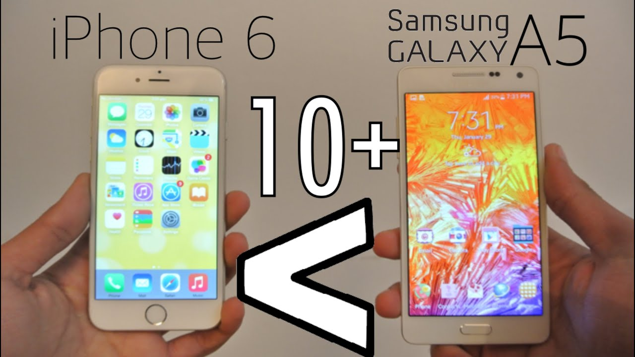 is samsung better than iphone