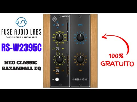 Equalizador Baxandall GRATUITO by Fuse Audio Labs: RS-W2395C