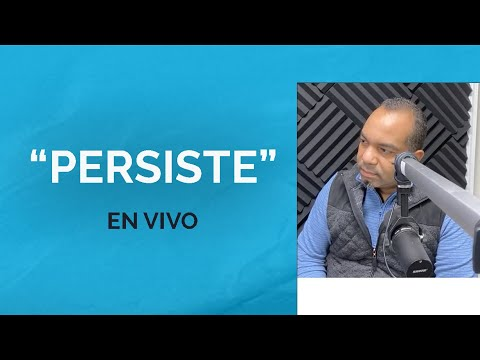"""En Radio Aliento """"Persiste""""   Pastor Israel Medina"""